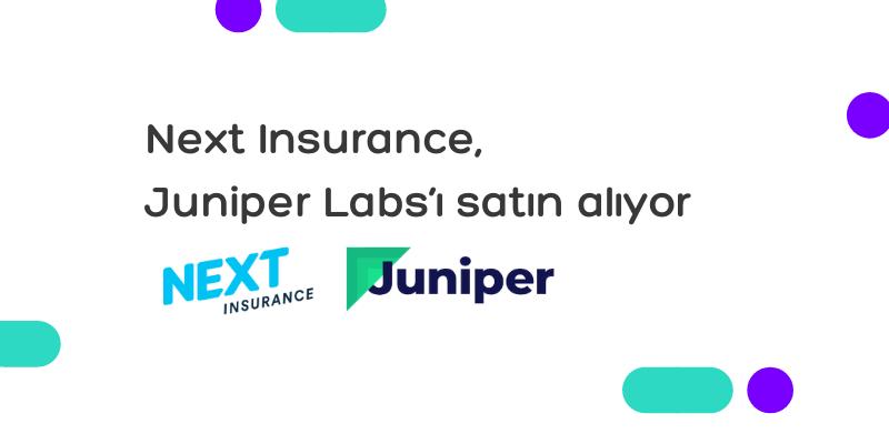 Next Insurance, Juniper Labs'ı satın alıyor