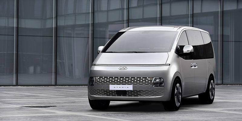 İşte yeni Hyundai MPV modeli STARIA'nın tasarım detayları