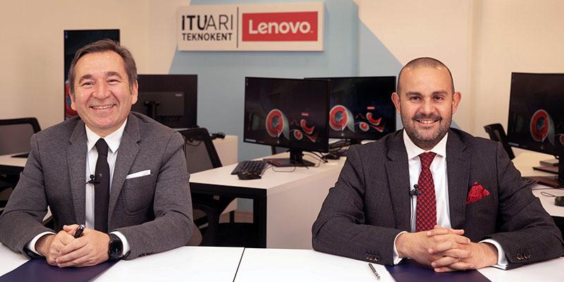 İTÜ ARI Teknokent bünyesinde Lenovo iş birliği ile kurulan yazılım laboratuvarı girişimcileri geleceğe hazırlayacak