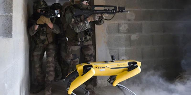 Boston Dynamics'in Spot robotu Fransız ordusuyla savaş eğitiminde test edildi