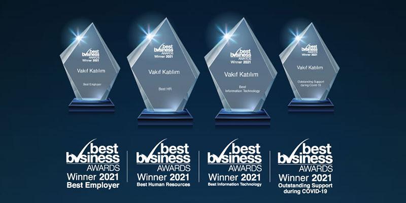 Best Business Awards'tan Vakıf Katılım'a 4 büyük ödül