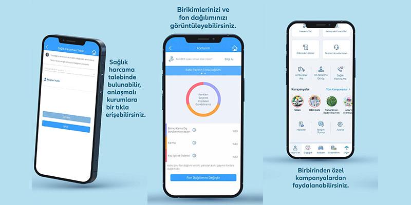 Allianz'ım mobil uygulaması yenilendi