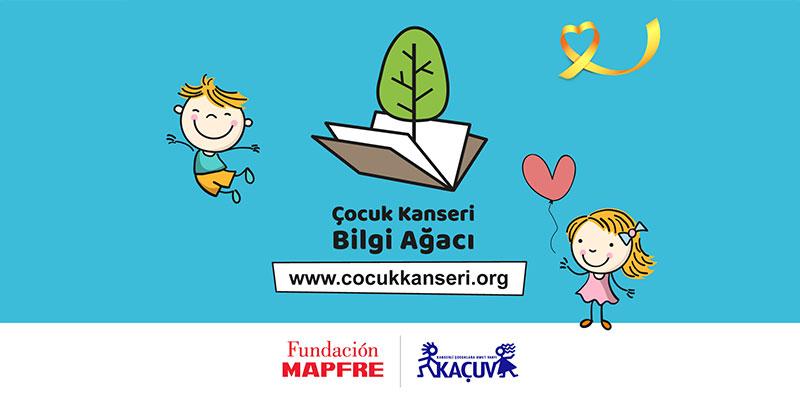 Fundación MAPFRE ve KAÇUV'dan kanser hastası çocuklar için yeni hikâye kitabı