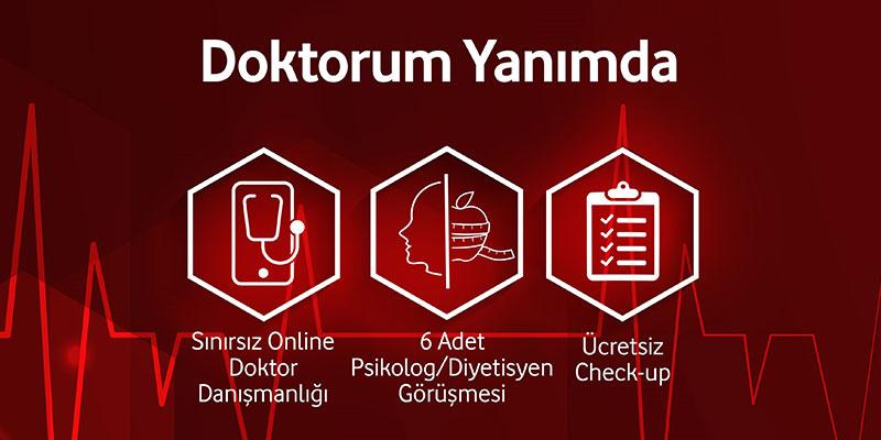 """Vodafone Sigorta'dan """"Doktorum Yanımda"""""""