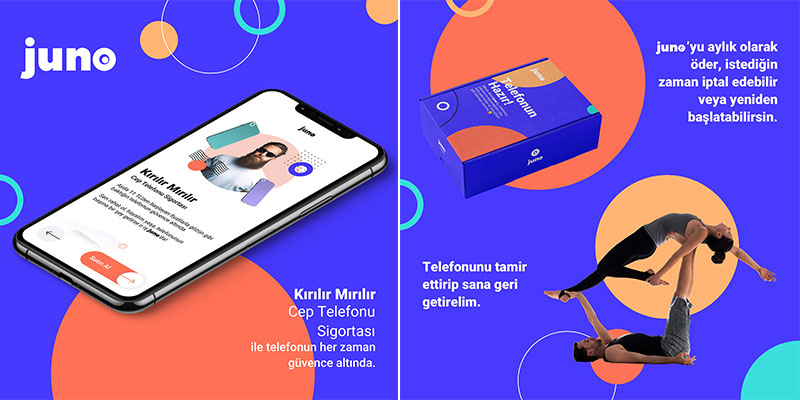 """Anadolu Sigorta, Türkiye Müşteri Deneyimi Ödülleri'nde """"juno"""" ile Gümüş Ödül'ün sahibi oldu"""