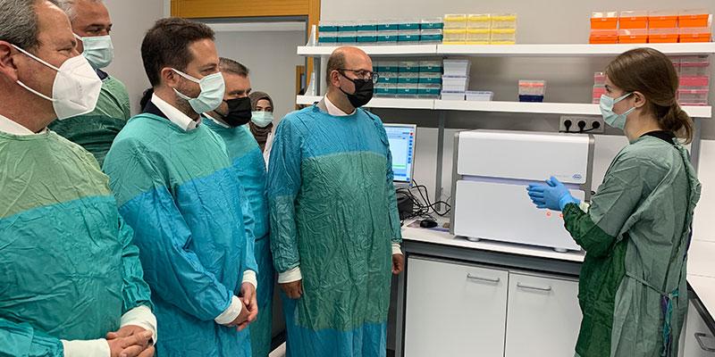 Demir Sağlık'tan Kocaeli Üniversitesi'ne PCR testi desteği