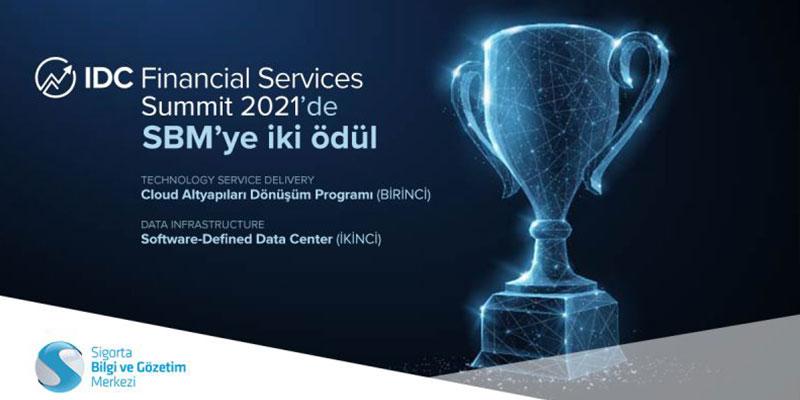 Sigorta Bilgi ve Gözetim Merkezi'ne iki ödül