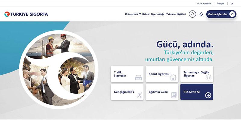 Türkiye Sigorta kurumsal web sitesini tekilleştirdi