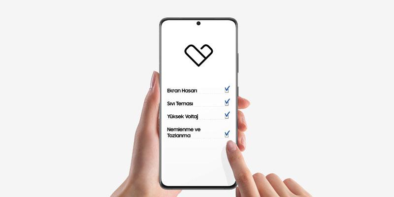 Samsung Care+ sigorta paketleri şimdi Türkiye'de