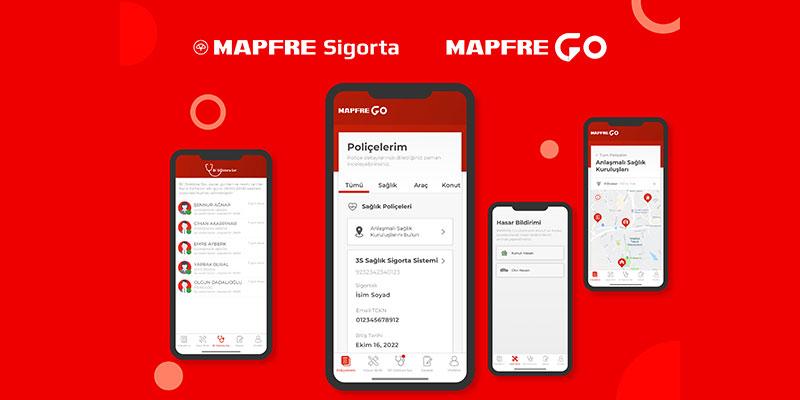 MAPRFE GO mobil uygulaması ile sigortacılık işlemleri 7/24 cepte